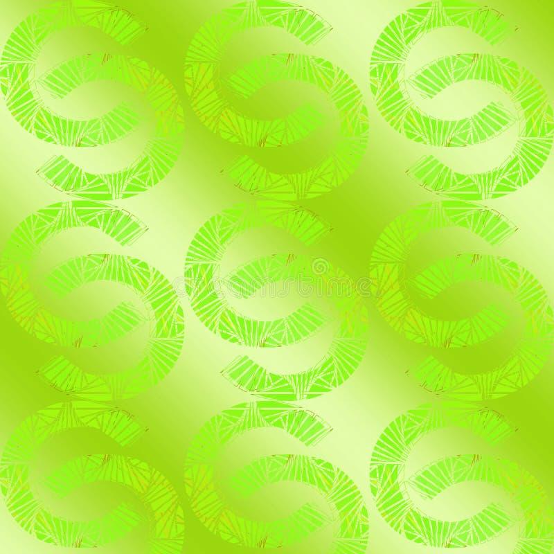 Projeto dourado abstrato do fundo da letra C O conceito sem emenda do teste padr?o pode ser usado para o papel de parede, papel d ilustração do vetor