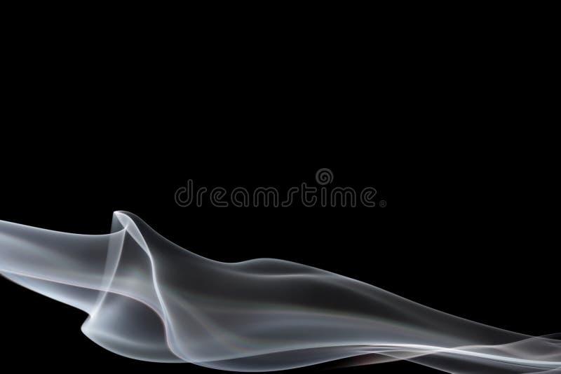 Projeto elegante do fumo ilustração do vetor
