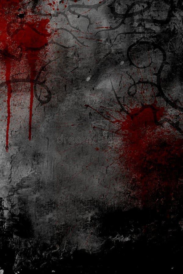 Projeto escuro do poster do estilo ilustração do vetor