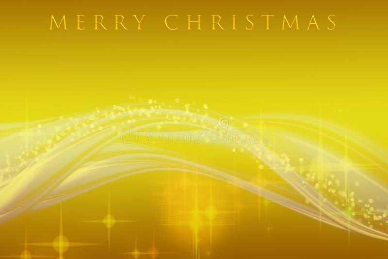 Projeto fantástico da onda do Natal ilustração do vetor