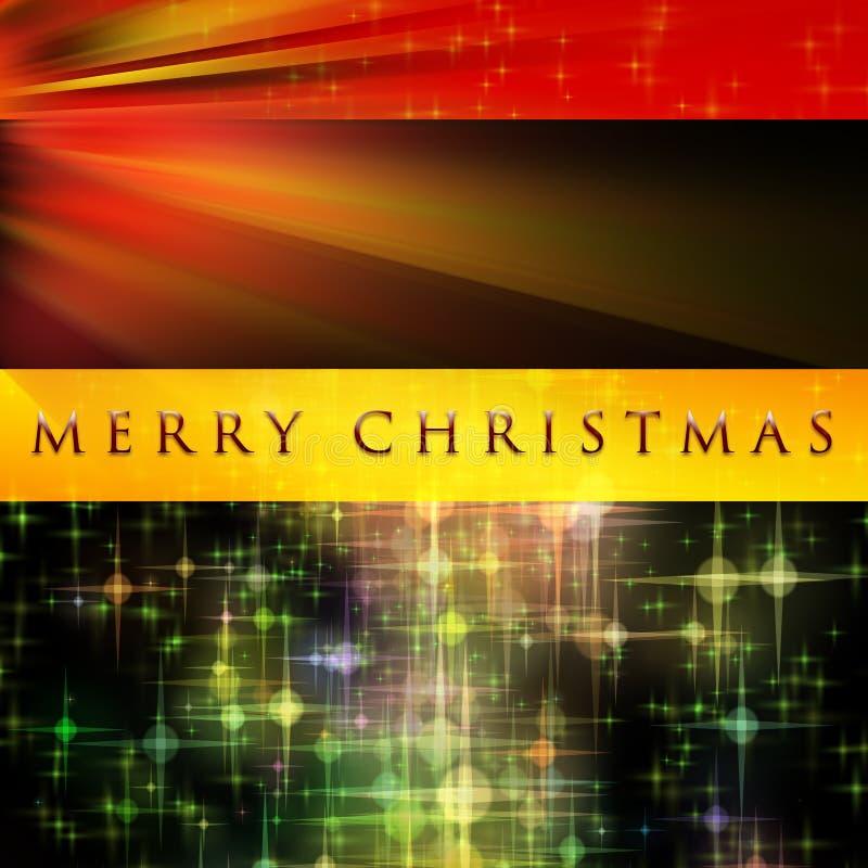 Projeto fantástico do Natal ilustração do vetor