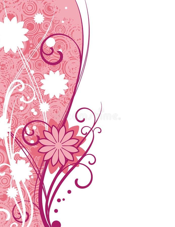 Projeto floral decorativo ilustração stock