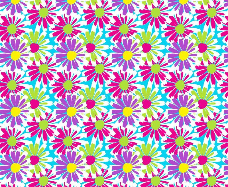 Projeto floral do teste padrão da mola ilustração do vetor