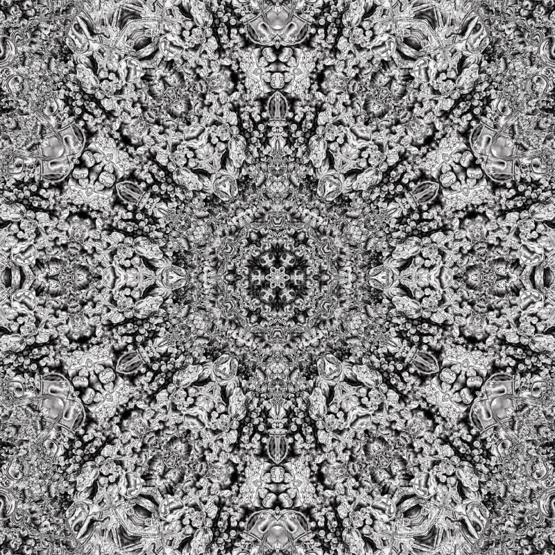 Projeto gótico do teste padrão imagem de stock