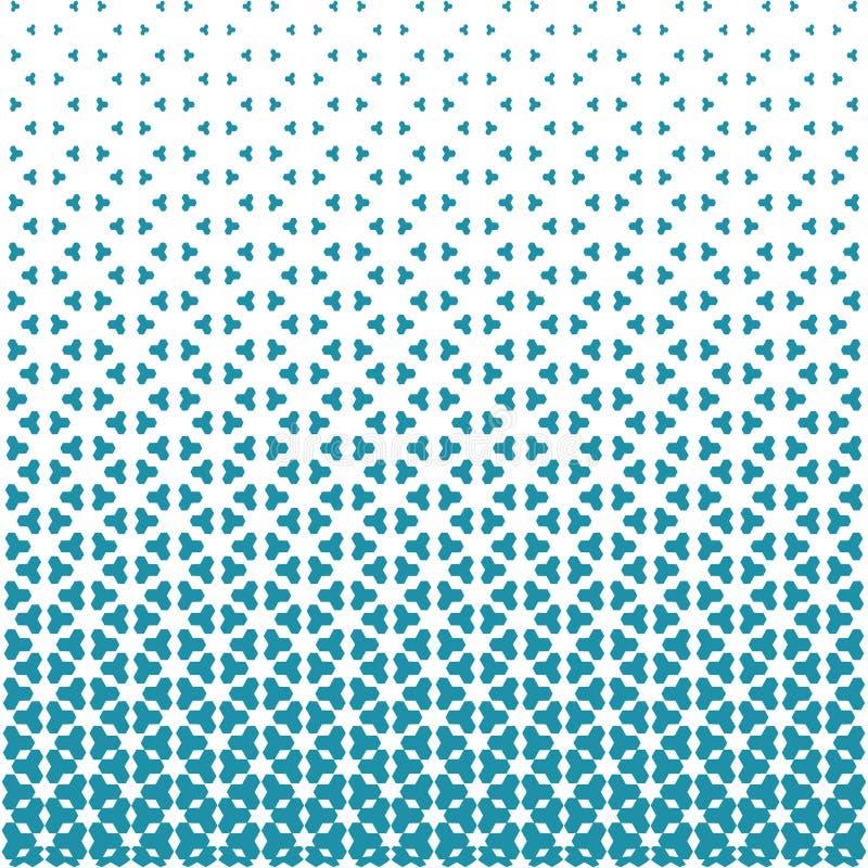 Projeto geométrico abstrato do teste padrão ilustração stock