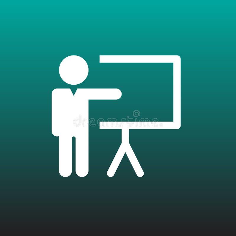 Projeto gráfico da ilustração do ícone do vetor da lição ilustração royalty free