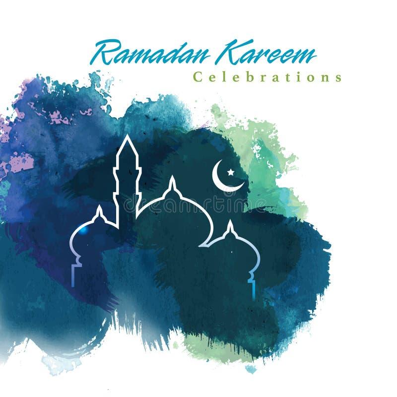 Projeto gráfico da ramadã ilustração royalty free