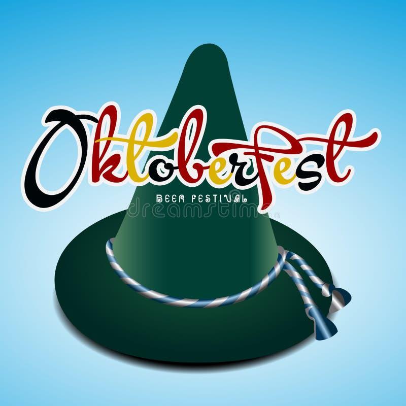 Projeto gráfico de Oktoberfest ilustração stock