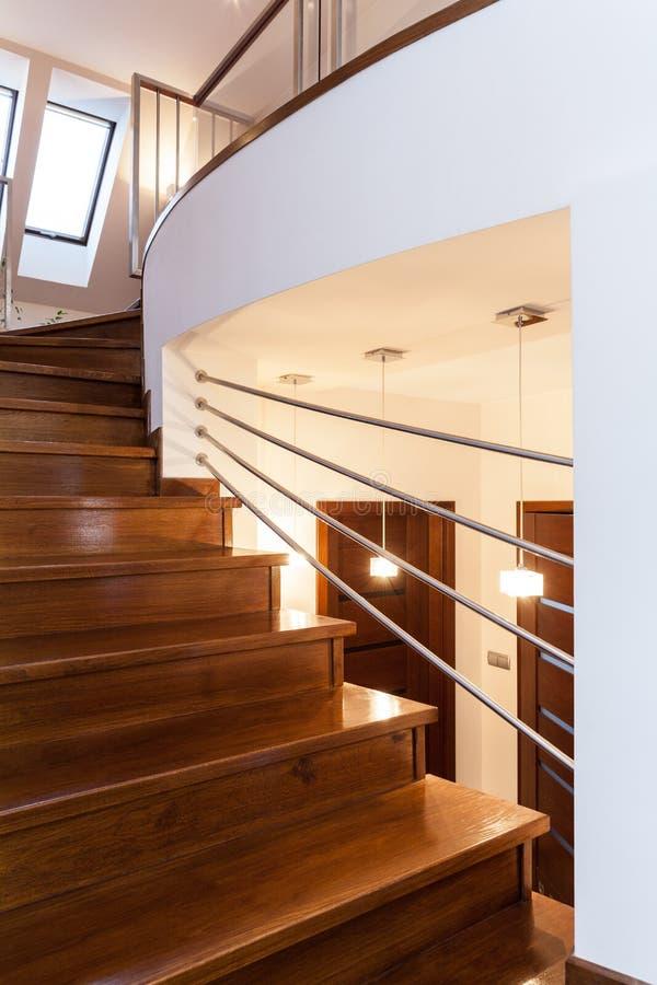 Projeto grande - escadas fotografia de stock royalty free