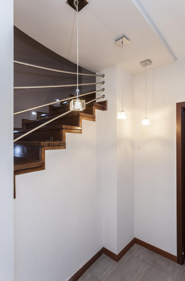 Projeto grande - escadas foto de stock royalty free