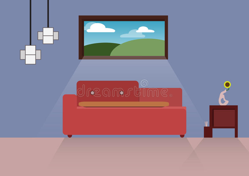 Projeto home, casa interior, estilo liso, interno, casa foto de stock royalty free