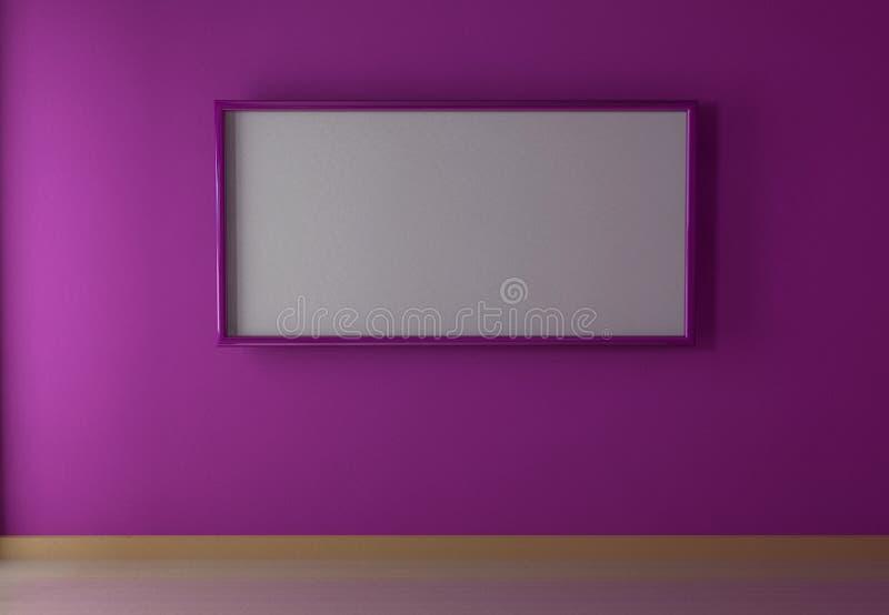 Projeto interior ilustração stock