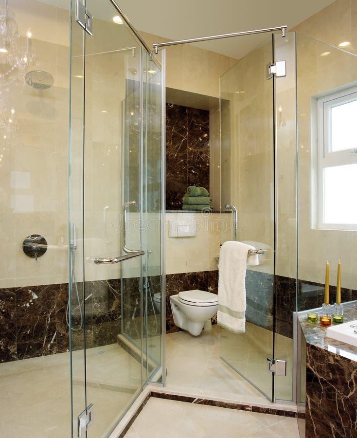 Projeto interior - banheiro foto de stock