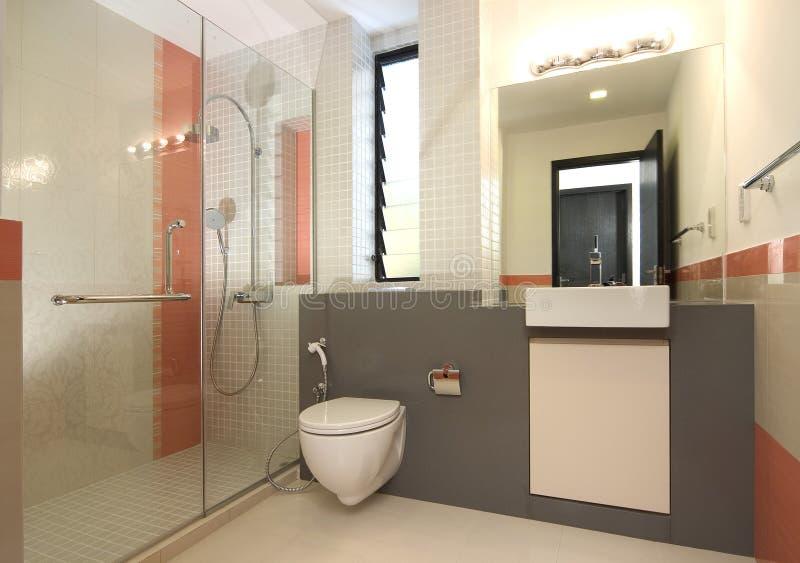 Projeto interior - banheiro imagem de stock