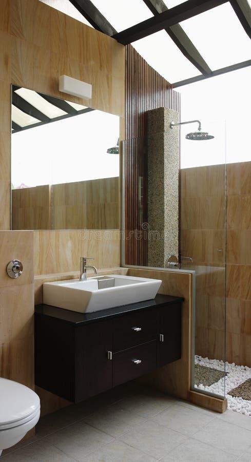 Projeto interior - banheiro imagem de stock royalty free