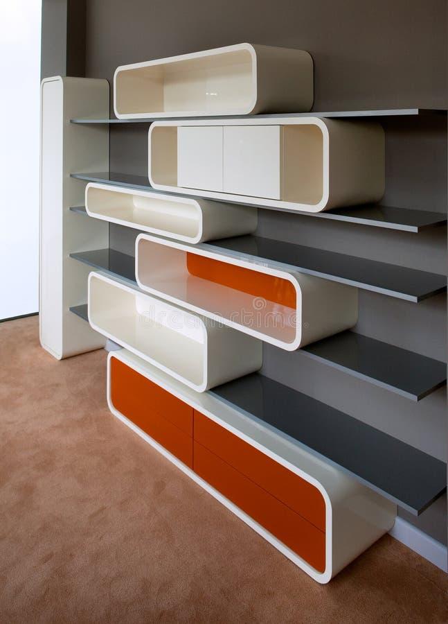 Projeto interior do quarto novo. Elegante e luxuoso. fotografia de stock