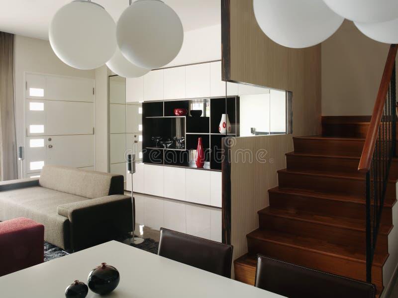 Projeto interior - jantando foto de stock