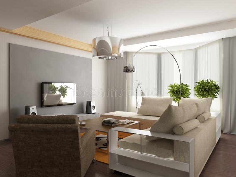 Projeto interior moderno