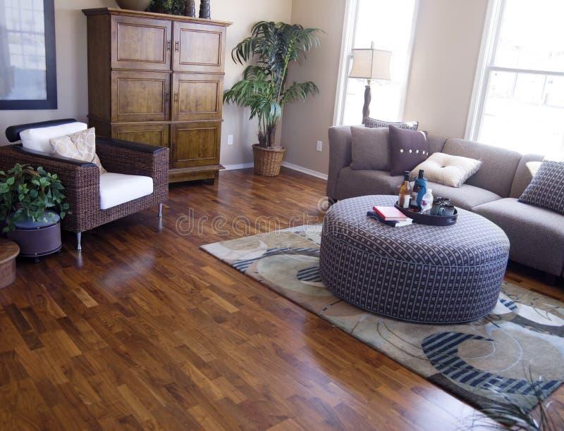 Projeto interior moderno brilhante fotografia de stock royalty free