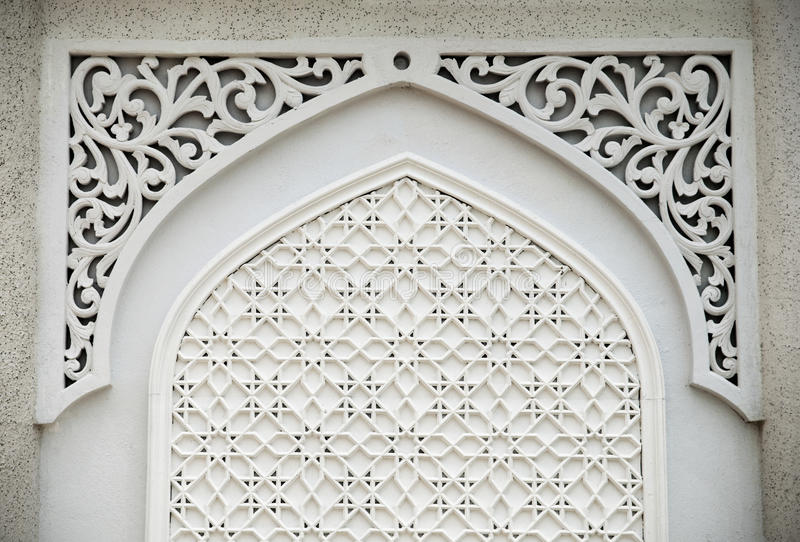 Projeto islâmico foto de stock