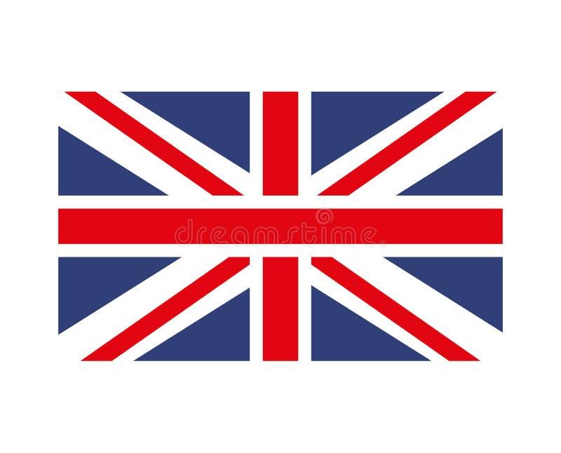 projeto isolado bandeira do ícone de Inglaterra ilustração royalty free