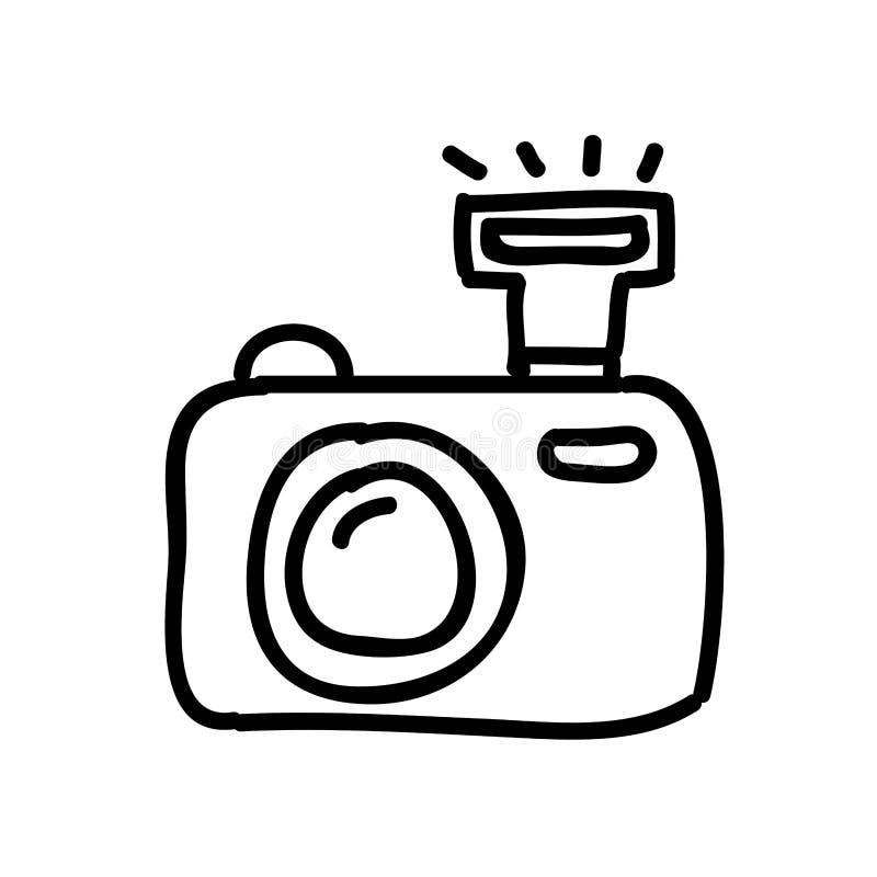 Super Projeto Isolado Desenho Do ícone Da Fotografia Da Câmera  VK47