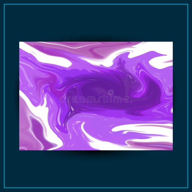 Projeto l?quido do fundo do m?rmore da pintura Textura do m?rmore do vetor do sum?rio pode ser usado como um fundo na moda para o ilustração do vetor