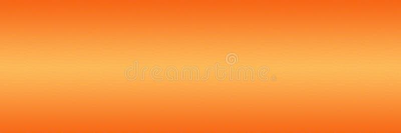 Projeto liso alaranjado do fundo da textura do inclinação fotos de stock