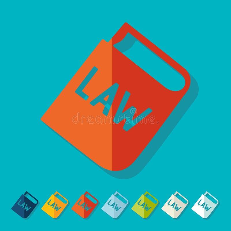 Projeto liso constitution ilustração do vetor