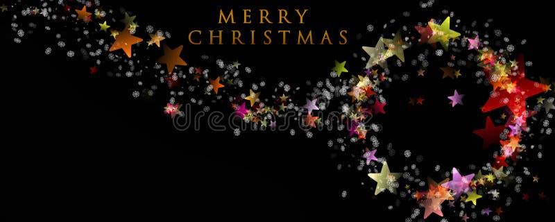 Projeto maravilhoso do fundo do Natal ilustração stock