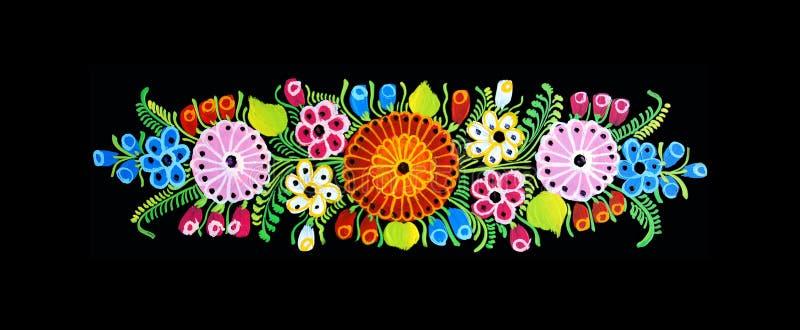 Projeto mexicano ilustração stock