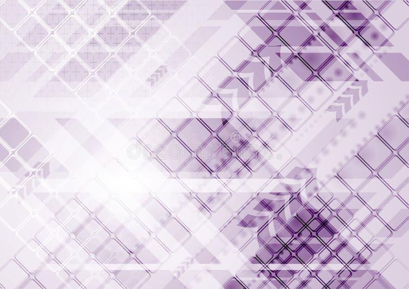 Projeto moderno abstrato do vetor ilustração do vetor