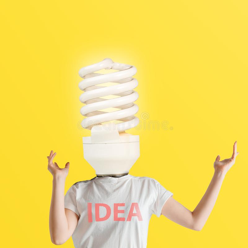 Projeto moderno Colagem da arte contempor?nea imagens de stock royalty free