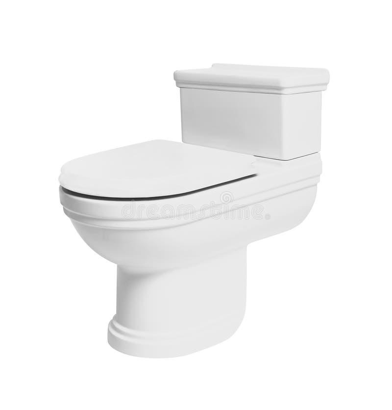 Projeto moderno da bacia de toalete 2 foto de stock