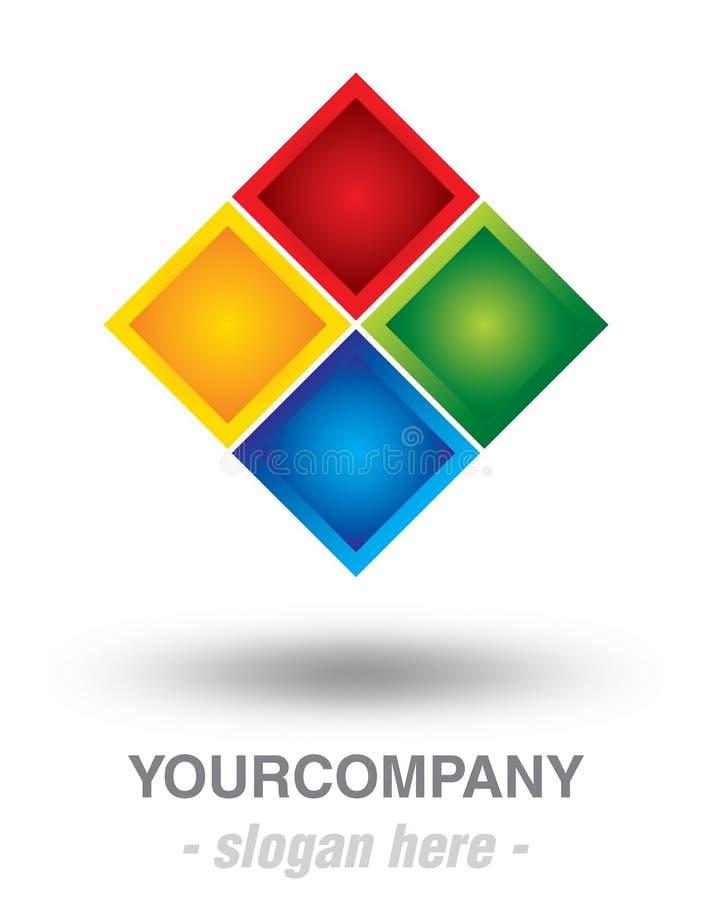 Projeto moderno do logotipo ilustração do vetor