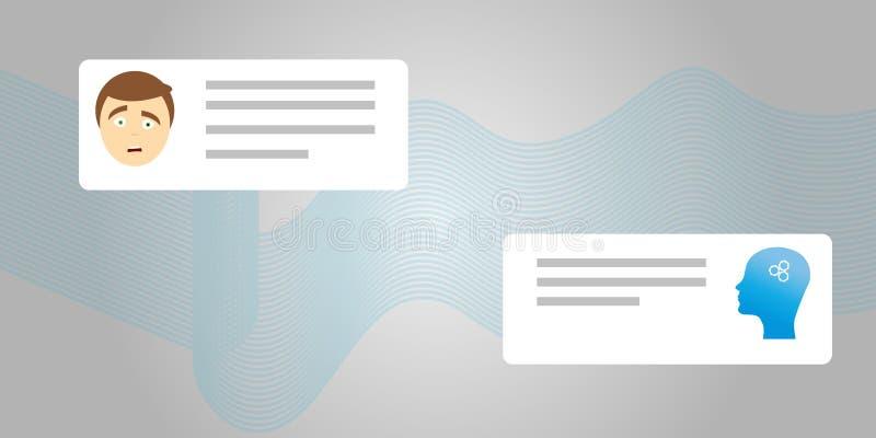 Projeto moderno liso do ícone da ilustração do personagem de banda desenhada do estilo do vetor Isolado no fundo branco Robô do b ilustração royalty free