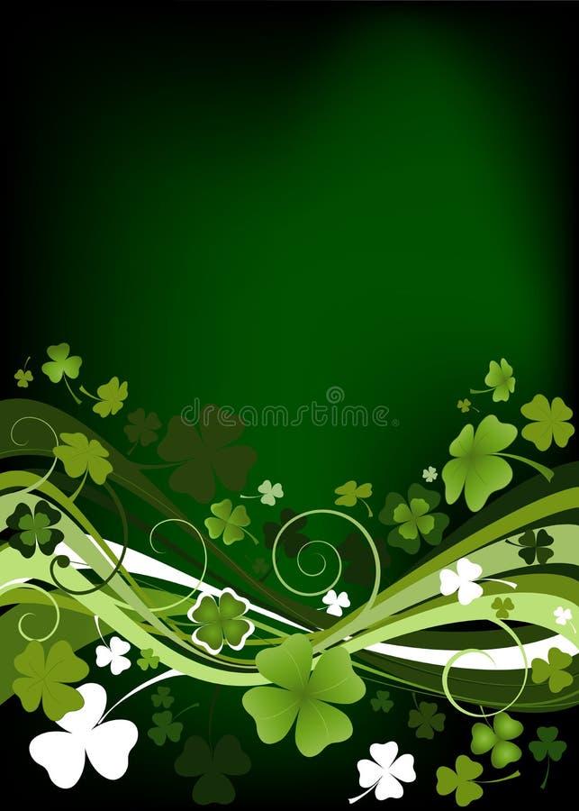 Projeto para o dia do St. Patrick ilustração royalty free