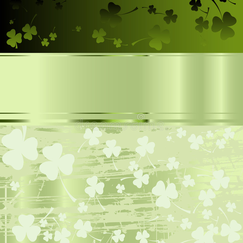 Projeto para o dia do St. Patrick ilustração do vetor