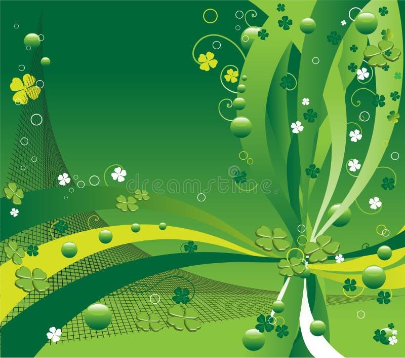 Projeto para o dia do St. Patrick ilustração stock