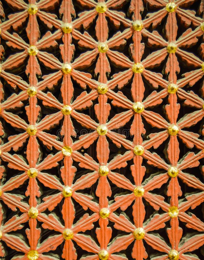 Projeto perfeitamente simétrico para para janelas foto de stock