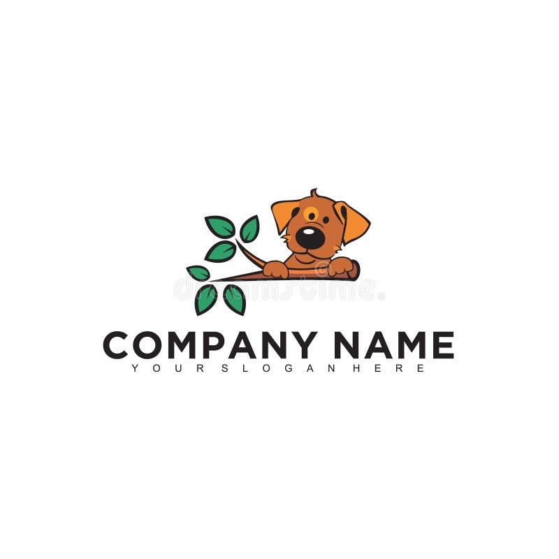 Projeto profissional moderno minimalistic simples do logotipo do molde animal do ilustrador do EPS do vetor do animal de estimaçã ilustração royalty free