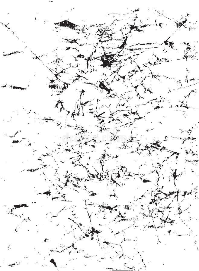 Projeto Scratchy abstrato ilustração stock