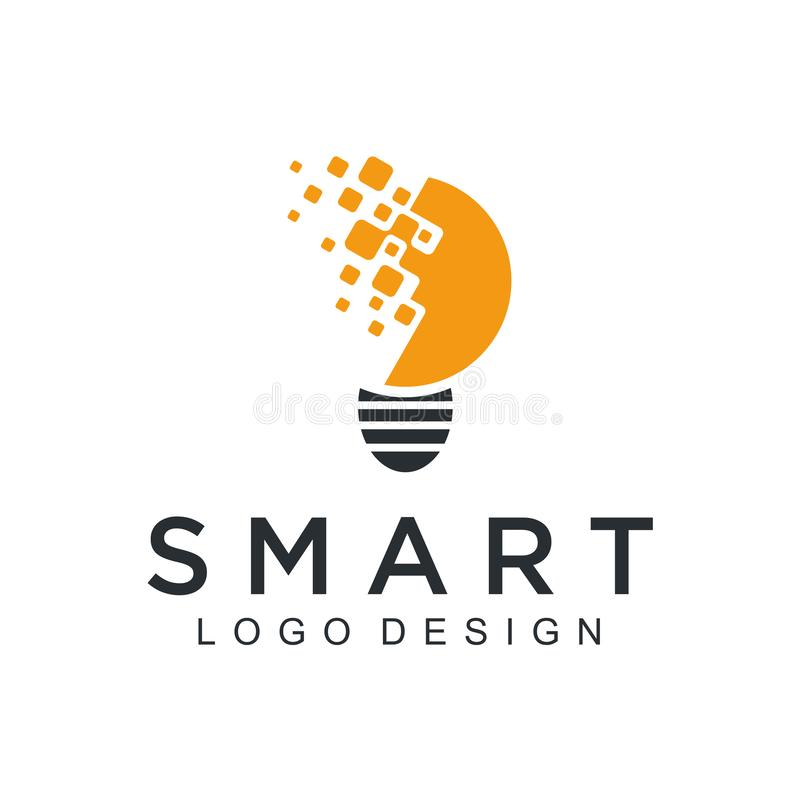 Projeto simples da tecnologia do logotipo da tecnologia Círculo abstrato criativo do vetor em volta do ícone moderno da forma ver ilustração do vetor