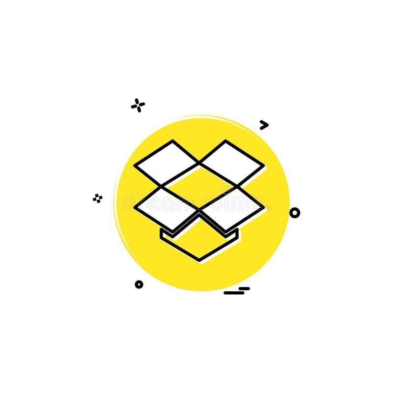 projeto social do vetor do ícone do tambor da rede dos meios ilustração do vetor