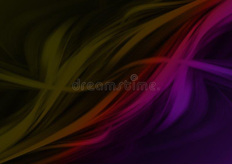 Projeto textured colorido abstrato do fundo do curso ilustração do vetor