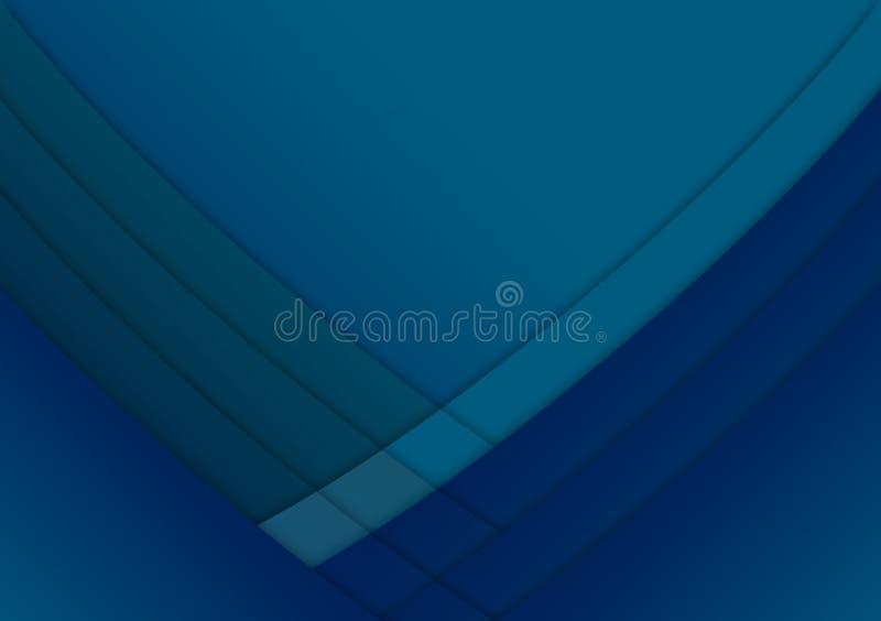 Projeto textured linear azul do fundo do papel de parede ilustração royalty free