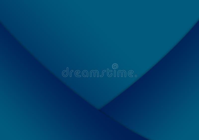 Projeto textured linear azul do fundo do papel de parede ilustração stock