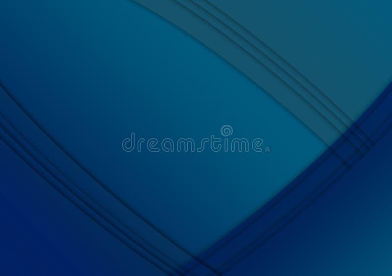 Projeto textured linear azul do fundo do papel de parede ilustração do vetor