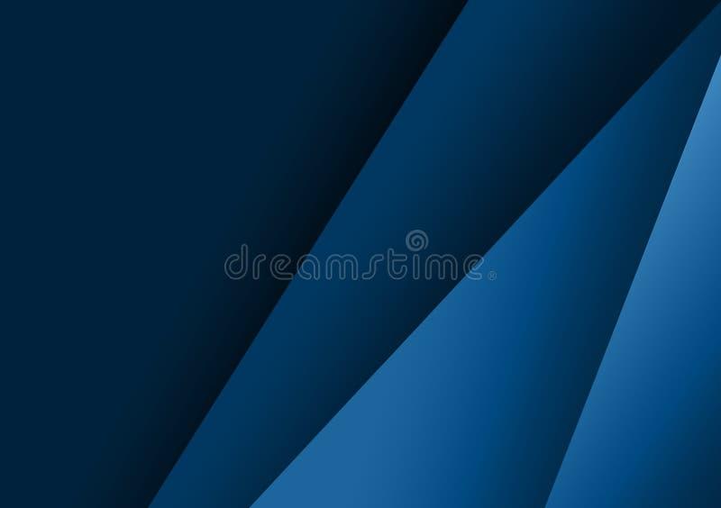 Projeto textured linear azul do fundo para o papel de parede ilustração do vetor