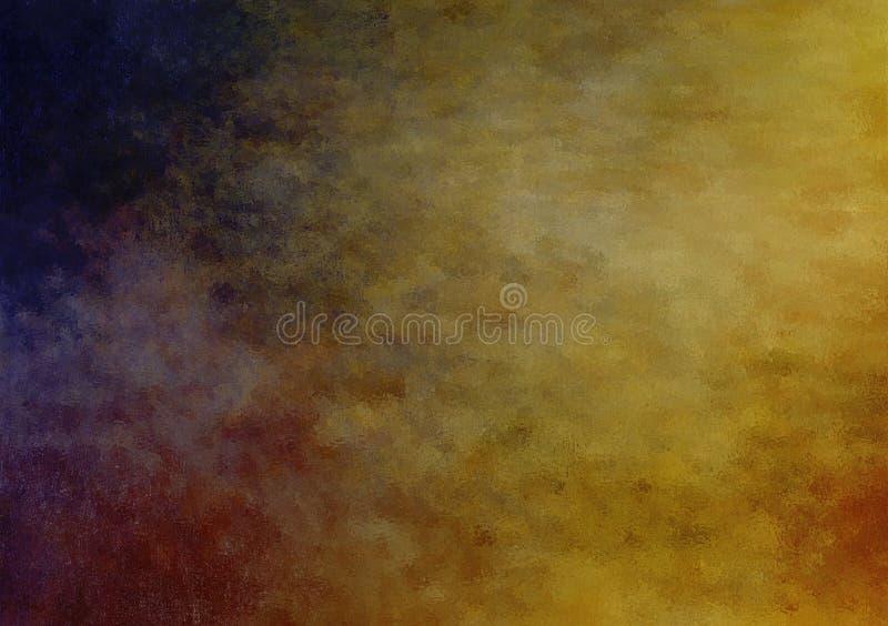 Projeto textured nebuloso colorido sum?rio do fundo ilustração do vetor